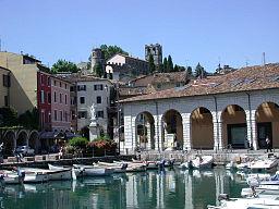 Old port of Desenzano