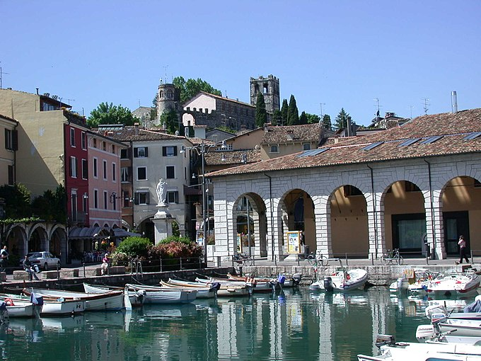 Old port of Desenzano