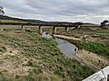 Old railway bridge over the Molonglo River at Rossi.jpg