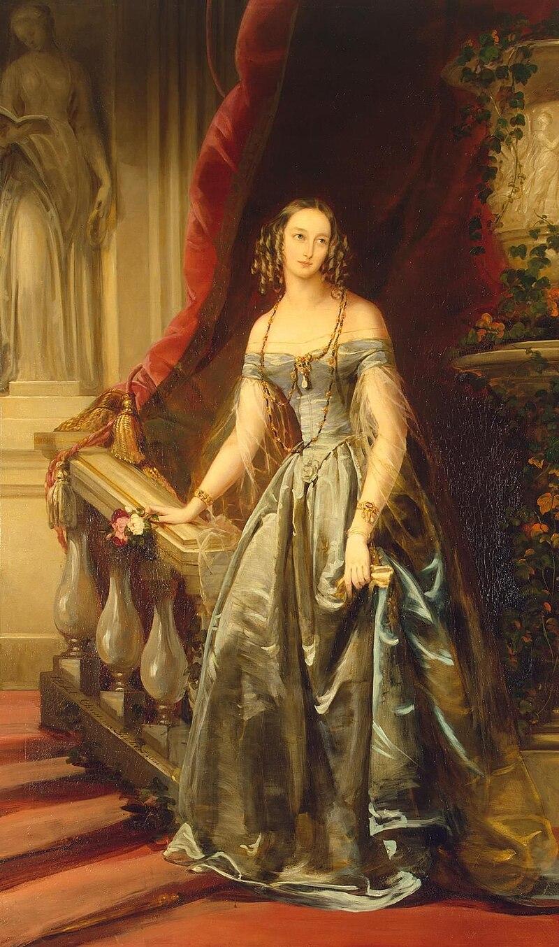 Ольга Николаевна из России К. Робертсон (1841, Эрмитаж).JPG