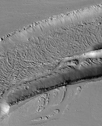 Fossa (geology) - Image: Olympica Fossae