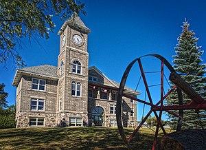 Presque Isle County, Michigan - Image: Onaway Courthouse