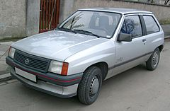 Opel Corsa A przed liftingiem