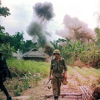 Operation Georgia - 3/9 Marines destroy Viet Cong positions