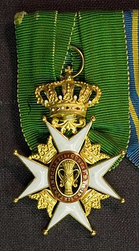 Order of the Vasa Knight 1st Class Cross 001.jpg