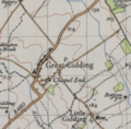 Ordnance Survey map of Great Gidding.PNG