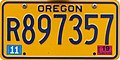 Oregon 2019 Travel Trailer license plate - tall numbers.jpg