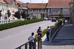 Centre of Ormož