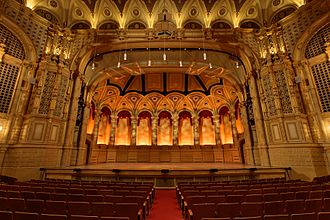 Orpheum (Vancouver) - Image: Orpheum Theatre Vancouver View Of Stage