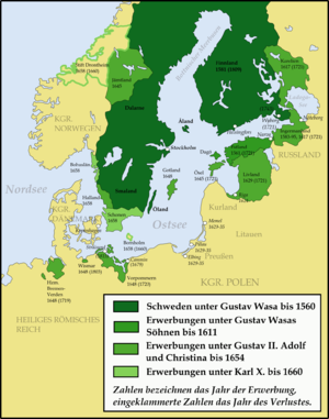 Swedish invasion of Brandenburg (1674–75) - The Swedish Empire in the 17th century