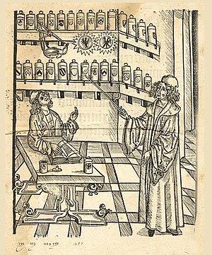 Hortus Sanitatis - Frontispiece of 1497 edition