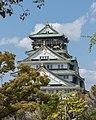 Osaka Castle, Keep tower, South view 20190415 1.jpg