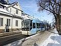Oslo tram linre 18 at St Halvards plass 01.jpg