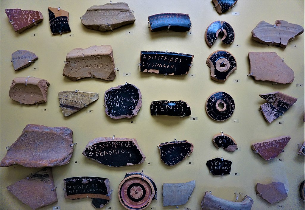 Ostraka for Ostracism - Museum of the Ancient Agora