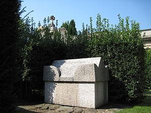 Ottorino Respighi - Tomb of Respighi at Certosa di Bologna, Italy