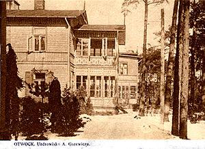 Świdermajer - Gurewicz retreat in prewar Poland, Świdermajer. Otwock