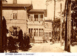 Świdermajer - Gurewicz retreat in prewar Poland, Świdermajer. Otwock