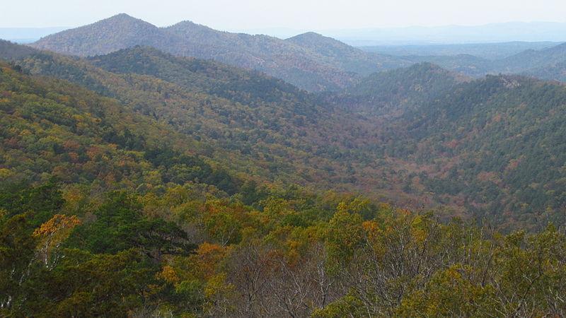 File:Ouachita Mountains in Arkansas.JPG