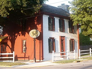 Troy, Ohio - 1808 Overfield Tavern, one of Ohio's oldest taverns, now a museum