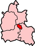 Shown within Oxfordshire