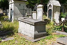 Père-Lachaise - Division 10 - Tracy-Durfort-Laubespin-Sieyes 02.jpg