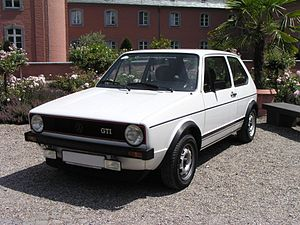 Hot hatch - Example of a hot hatch before 1980, the Golf GTI