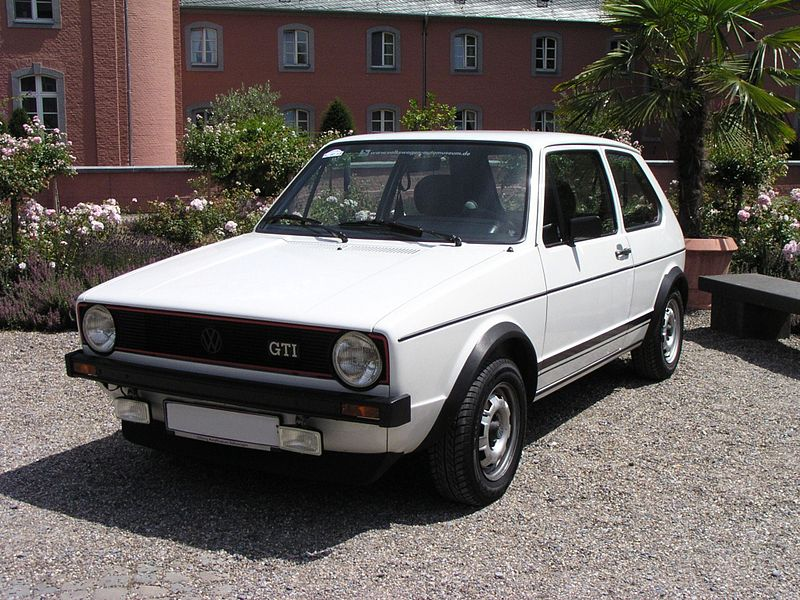 1983 Volkswagen Golf Ii Gti. -I thought the MK1 Golf GTI