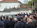 P1110166 Enterro Fraga Perbes - coche funebre, netos.JPG