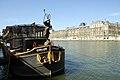 P24 Paris The Calife Boat Restaurant Quai Malaquais River side Left (5640294446).jpg