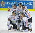 PLH final 2012 Sanok champions players from Podhale Nowy Targ.jpg