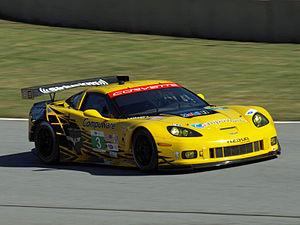 Antonio García (racing driver) - García driving for Corvette Racing in the 2012 Petit Le Mans.