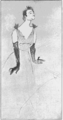 PP D008 yvette guilbert facsimile of sketch by toulouse lautrec for an unpublished poster.png