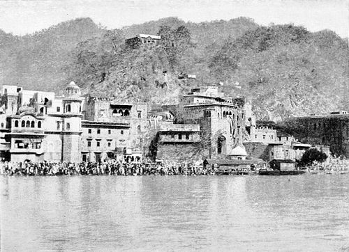 PSM V43 D658 Sacred pool at haridwar.jpg