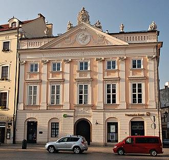 Zbaraski - Image: Pałac Zbaraskich, Kraków