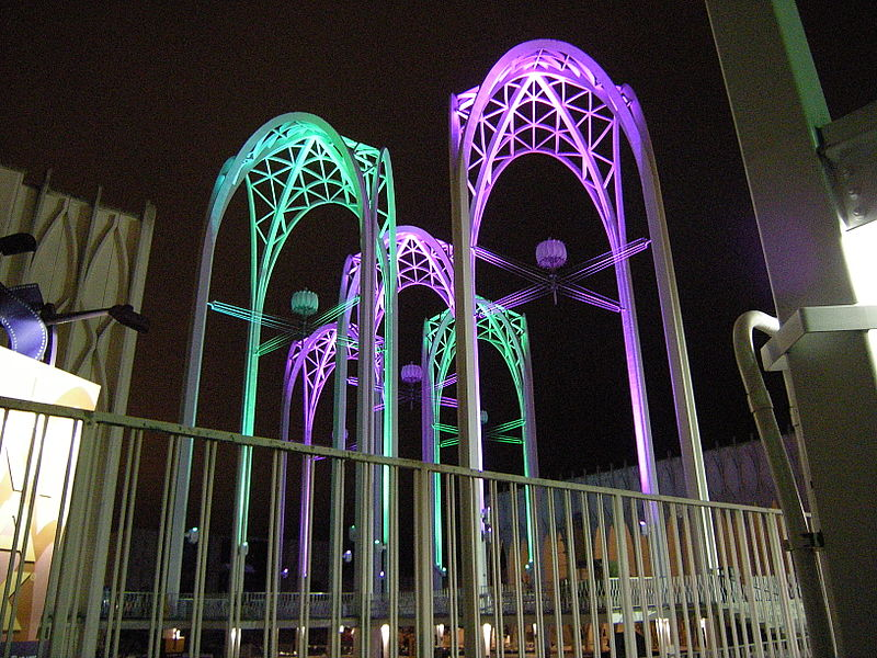 Pacific Science Center at night 02.jpg