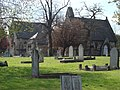 Paddington Cemetery Gravestones and Chapel - geograph.org.uk - 767359.jpg