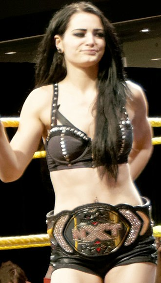 NXT Women's Championship - The inaugural NXT Women's Champion Paige