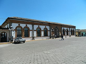 Chignahuapan - Government building of the municipality (Palacio Municipal).