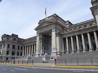 Politics of Peru - Supreme Court of Justice of Peru.