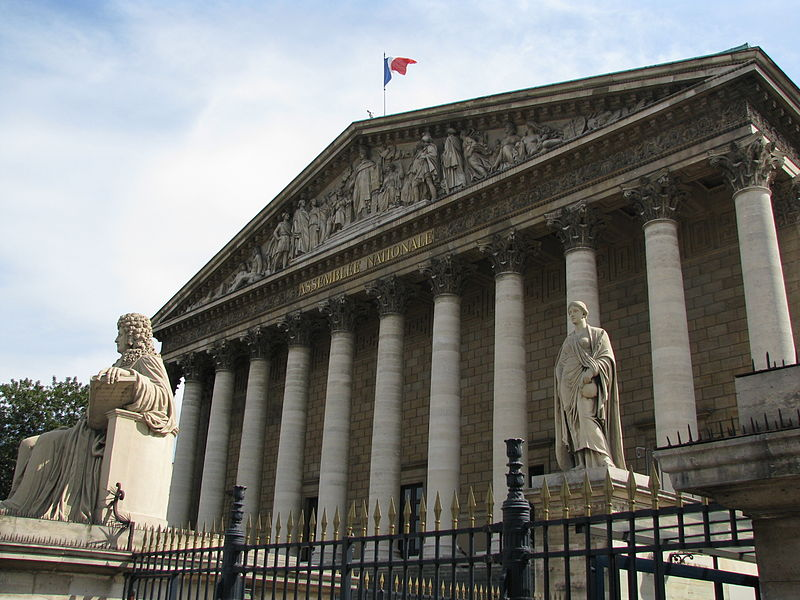 Palais Bourbon Assemblée nationale