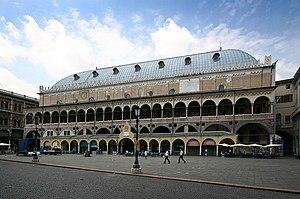 Palazzo della Ragione Padua Fassade