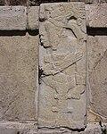 Palenque - El Palacio - Relief dans le patio de los Cautivos.JPG