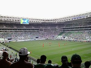 Allianz Parque - International friendly match between Palmeiras and Shandong Luneng at Allianz Parque, January 2015