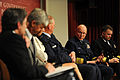 Panel discussion at the Kennedy School of Government at Harvard University 110428-G-ZX620-020.jpg