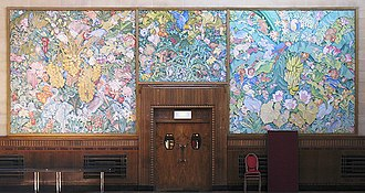Frank Brangwyn - British Empire Panels in the Brangywn Hall, Swansea