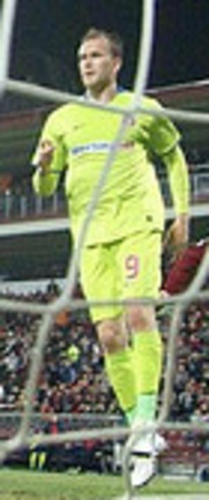 Pantelis Kapetanos - Kapetanos playing for Steaua