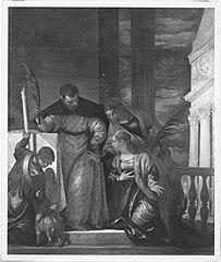 Szene aus dem Leben der hl. Klara (?)