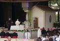 Papa Francisco na Capelinha das Aparições (12 de Maio de 2017).png