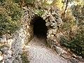 Parco Miramare - tunnel.JPG