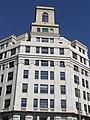 Parte superior del edificio histórico de la Telefónica.JPG